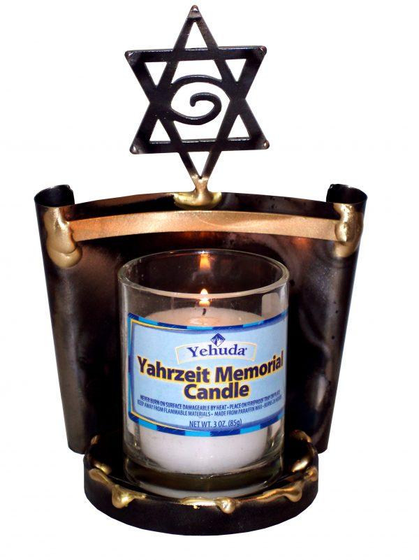 YC6 - Yartzeit Candle Holder