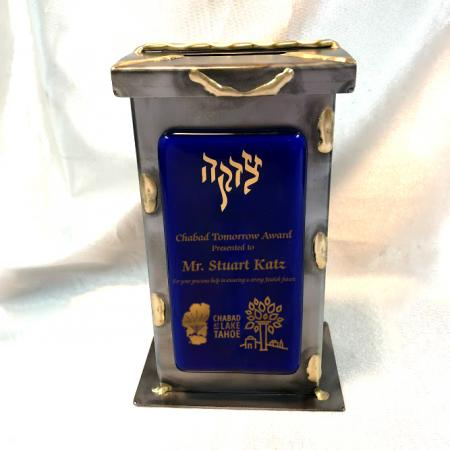 Chabad Tomorrow TBLG with Large Glass